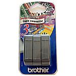 Ruban d'étiquettes Brother Noir, blanc 8 Unités