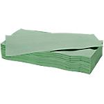 Essuie mains NICEDAY PROFESSIONAL 2 épaisseurs Pliage en V Vert   15 Unités de 214 Feuilles