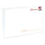 Enveloppes Prêt à poster La Poste Blanc 22,9 x 16,2 cm   10 Unités