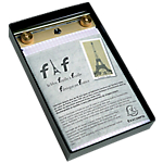 Bloc Exacompta FAF   Feuille à feuille 21 x 29,7 cm