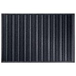Tapis d'entrée extérieur Office Depot 135 (H) x 90 (l) cm Anthracite, noir
