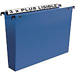 Dossiers suspendus pour armoires Esselte Visio Plus Bleu