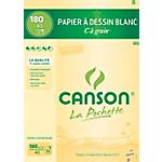 Papier à dessin Canson C à grain A3 180 g