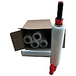 Kit 6 bobines de film étirable et 1 dérouleur plastique  300m (L) x 450mm (l) 17 µm   6 Rouleaux
