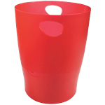 Corbeille à papier Exacompta Classic Rouge 33,5 cm