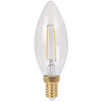 Ampoule LED à filament flamme Ariane Lighting E14 2 W Blanc chaud