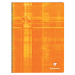 Cahier à spirale Clairefontaine METRIC A4+ 5 x 5 Orange   90 Feuilles