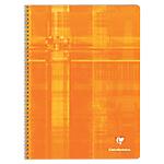 Cahier à spirale Clairefontaine METRIC A4+ Quadrillé Orange   90 Feuilles