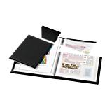 Protège documents Voltiplast 90   6 faisceaux Noir