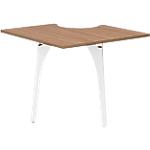 Extension pour table de réunion Gautier Office Xenon 90 x 90 x 74 cm Cerise