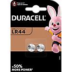 Piles bouton Duracell Lithium LR44   2 Unités