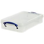 Boîte de rangement Really Useful Boxes 4 4 litres 8,8 (H) x 39,5 (l) cm Transparent