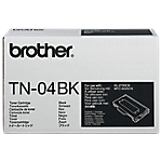 Toner Brother D'origine TN 04BK Noir