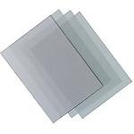 Couvertures transparentes PVC 0.2 mm ELAMI A4 Transparent   10 Unités