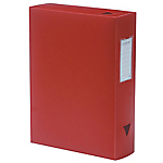 Boîte de classement Viquel Propysoft 24 x 8 x 32 cm Rouge