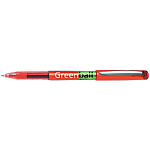 Roller encre gel Pilot Green Ball 1 mm Rouge