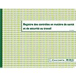 Registre Hygiène   Sécurité Exacompta 24 x 32 cm 110 g
