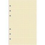 Recharge pour organiseur Exacompta Exatime 17   Non millésimé 40 Pages 17,2 (H) x 10,5 (l) cm Jaune