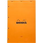 Bloc de bureau Rhodia Carnet de notes Rhodia A4+ Quadrillé Orange   80 Feuilles