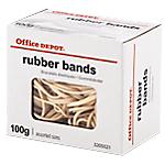 Élastiques en caoutchouc Office Depot   100 g