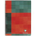 Cahier à spirale Clairefontaine Matris A5+ Ligné Rouge, vert   90 Feuilles