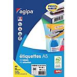 Étiquettes APLI 114016 Blanc 19 x 38 mm 30 Feuilles de 16 Étiquettes