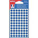 Pastilles adhésives APLI Apli Bleu 462 Unités