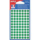 Pastilles adhésives APLI Apli Vert 462 Unités