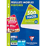 500 Feuillets mobiles   Clairefontaine   A4   Petits Carreaux