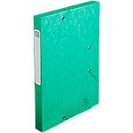 Boîte de classement Exacompta Cartobox 24 x 2,5 x 24 cm Vert 25 Unités