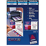 Cartes de visite Avery Quick and Clean 260 g