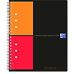 Cahier OXFORD International A5 Quadrillé Noir   80 Feuilles