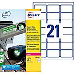 Étiquettes multifonctions AVERY Zweckform L7060 20 Blanc 63,5 x 38,1 mm 20 Feuilles de 21 Étiquettes