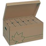 Container pour boites archives FAST Nature Marron 52 x 26 x 35 cm 10 Unités