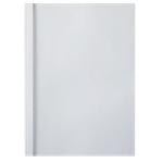 100 couvertures de thermoreliure carton toilé   GBC   dos 6 mm blanc