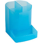 Pot à crayons Exacompta Linicolor 9 x 12,3 x 11,1 cm Bleu