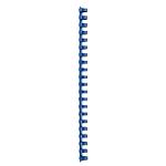 Baguette à relier Chlorure de Polyvinyle (PVC). GBC CombBind A4 16 mm Bleu   100 Unités