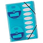 Trieur ELBA 331389 BU 8 Compartiments Bleu
