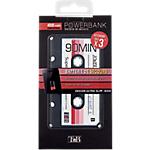 Batterie de secours T'nB Cassette audio 4000 mAh Noir