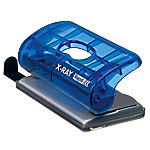 Perforateur 2 trous Rapid EC20 X Ray Bleu