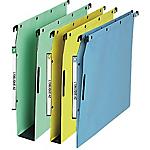 Dossiers suspendus pour armoires fond V ELBA Velcro Bleu 25 Unités