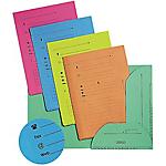 Chemises pour dossiers suspendus jaune ELBA 100090073 A4 240 g