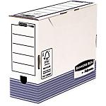 Boîtes d'archivage Fellowes Bankers Box Blanc, bleu 24,5 x 33,5 x 10 cm 10 Unités