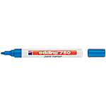 Marqueur peinture edding e750 Ogive Bleu