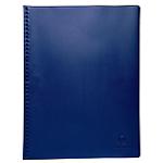 Protège documents soudé Exacompta Vega PVC 40 Pochettes A4 Bleu