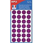 Pastilles adhésives APLI Apli Violet 168 Unités