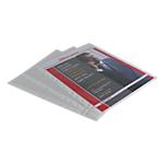 Pochettes perforées Office Depot Standard polypropylène A4 Chrystal claire 11 Perforations 80 microns 100 Unités