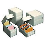 Boîte à fiches Nobo Classement en largeur 15 x 10,5 cm Gris