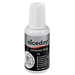 Correcteur fluide Niceday Séchage rapide Blanc