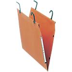 Dossiers suspendus pour armoire Esselte Visio plus fond 50 mm Orange 25 Unités